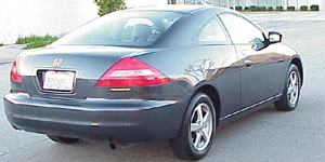 Honda Accord back